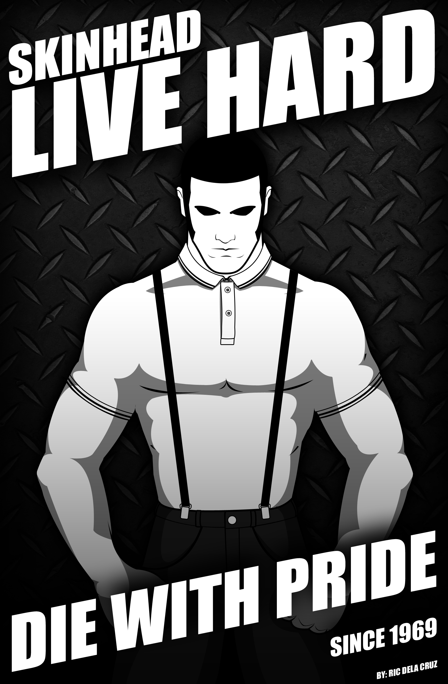 live hard die with pride by scampbrawler