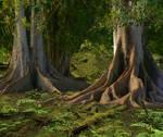 Jungle Premade Background