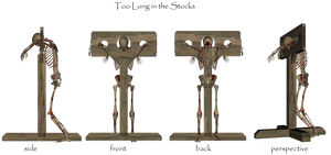 Skeleton Stocks by Nolamom3507