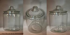 Glass Biscotti Jar
