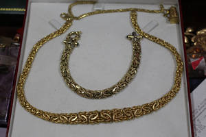 Gold Byzantine Chains by Nolamom3507