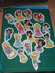 MOAR Princesses by ayeczka