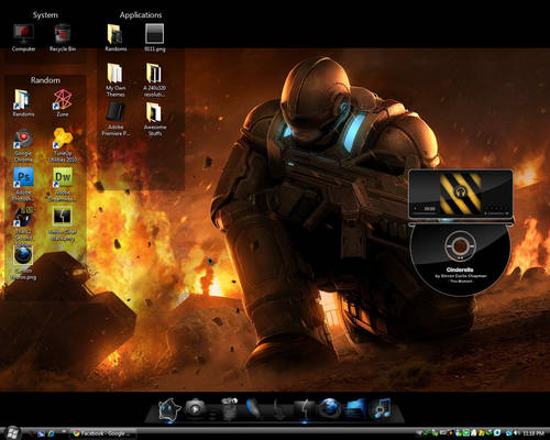 Vista Desktop Screenshot II