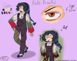 Character Sheets- Blake Dreadful by CutieWinterSnow