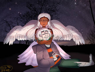 A night with an Angel. by CutieWinterSnow