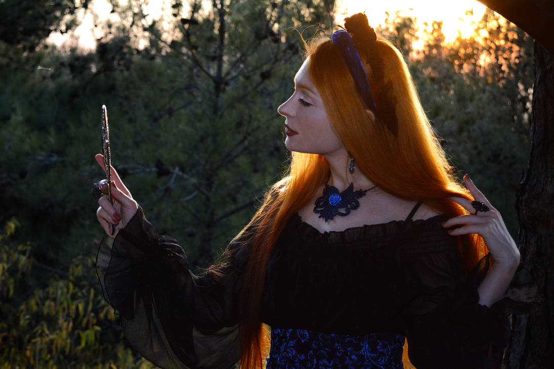 Preraphaelite Muse V by LadyDelwynne