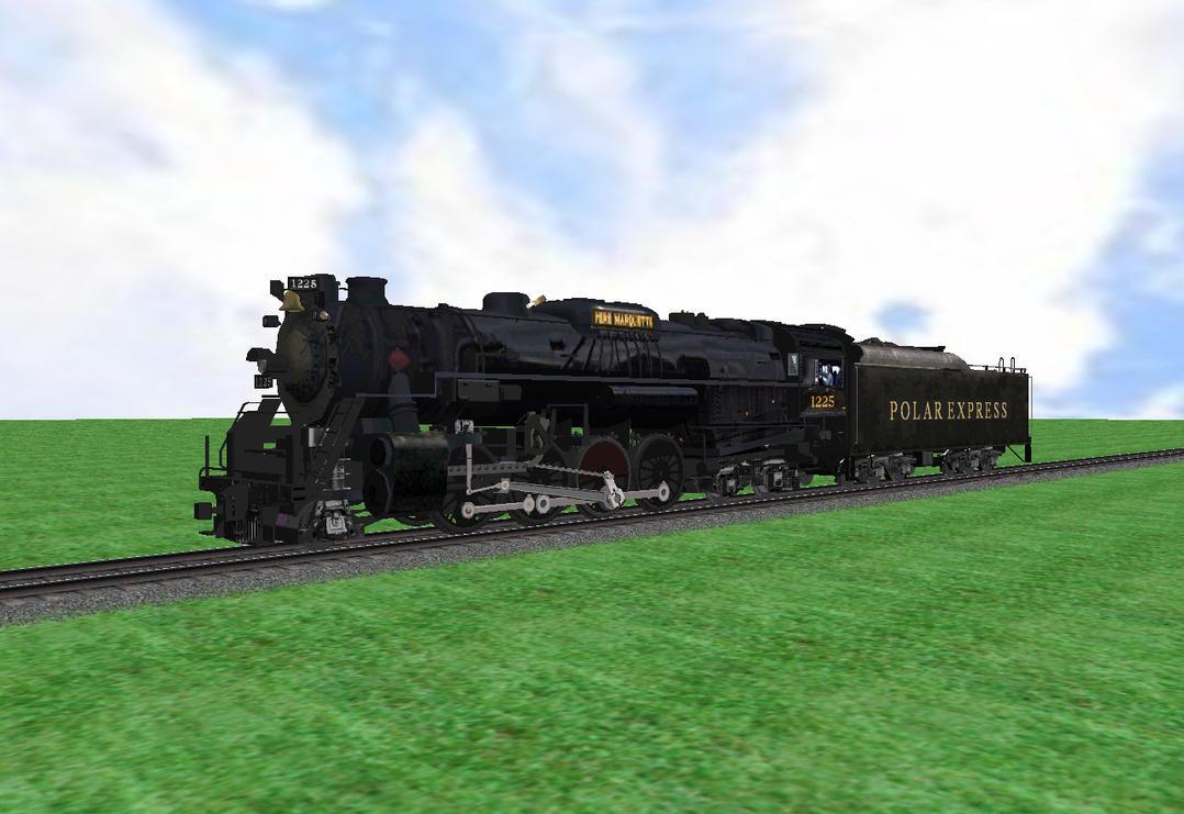 Lego Polar Express Msts polar express engine