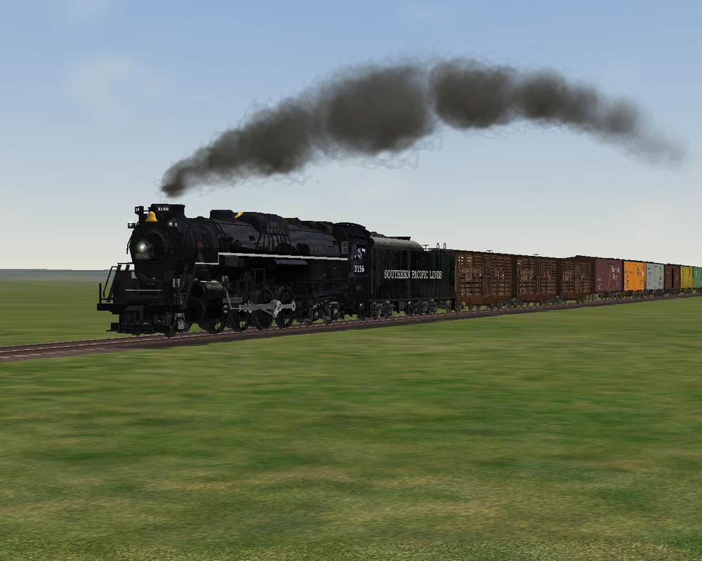 MSTS Southern Pacific 2-8-4 by 736berkshire