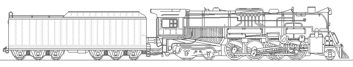 gavino245 20 4 polar express engine revised by 736berkshire - Polar Express Train Coloring Page