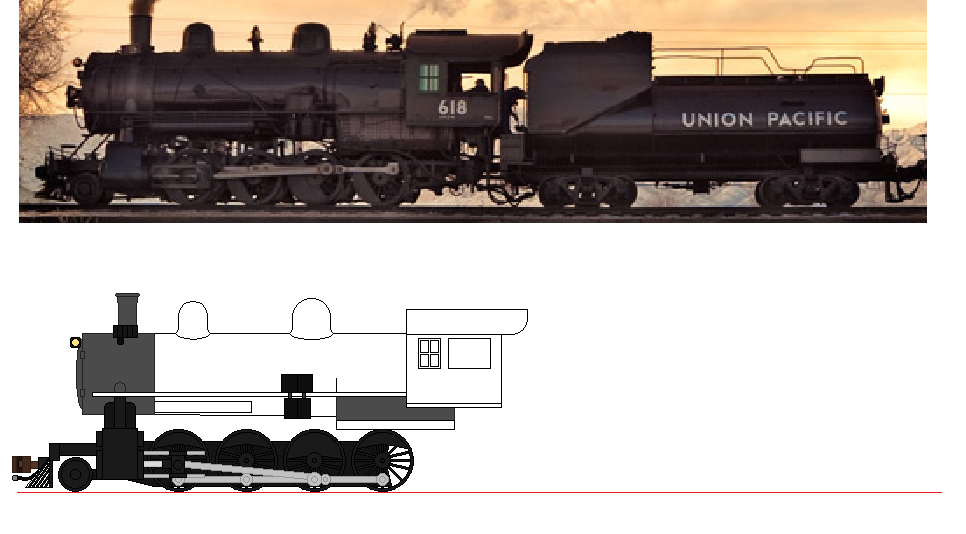 WIP Union Pacific Consolidation By 736berkshire On DeviantArt