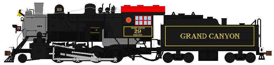 Grand Canyon Railway 29