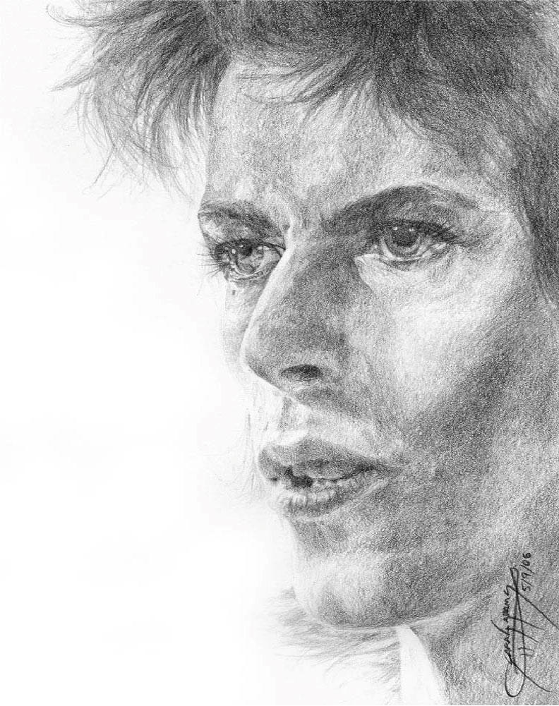 David Bowie by Shinta-san on deviantART: shinta-san.deviantart.com/art/david-bowie-33072717
