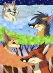 Foxes of seasons