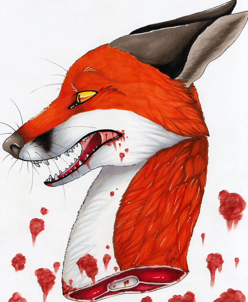 Severed beast by FigoFox