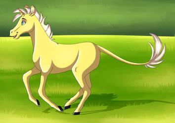 Little unicorn by FigoFox