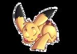 Sleepy Pikachu by FigoFox