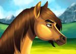 Spirit - Stallion Of The Cimarron by FigoFox