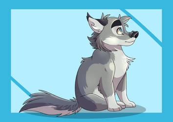 Blue Pupper