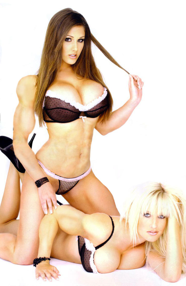 Lucy Pinder and Michelle Marsh by soccermanager