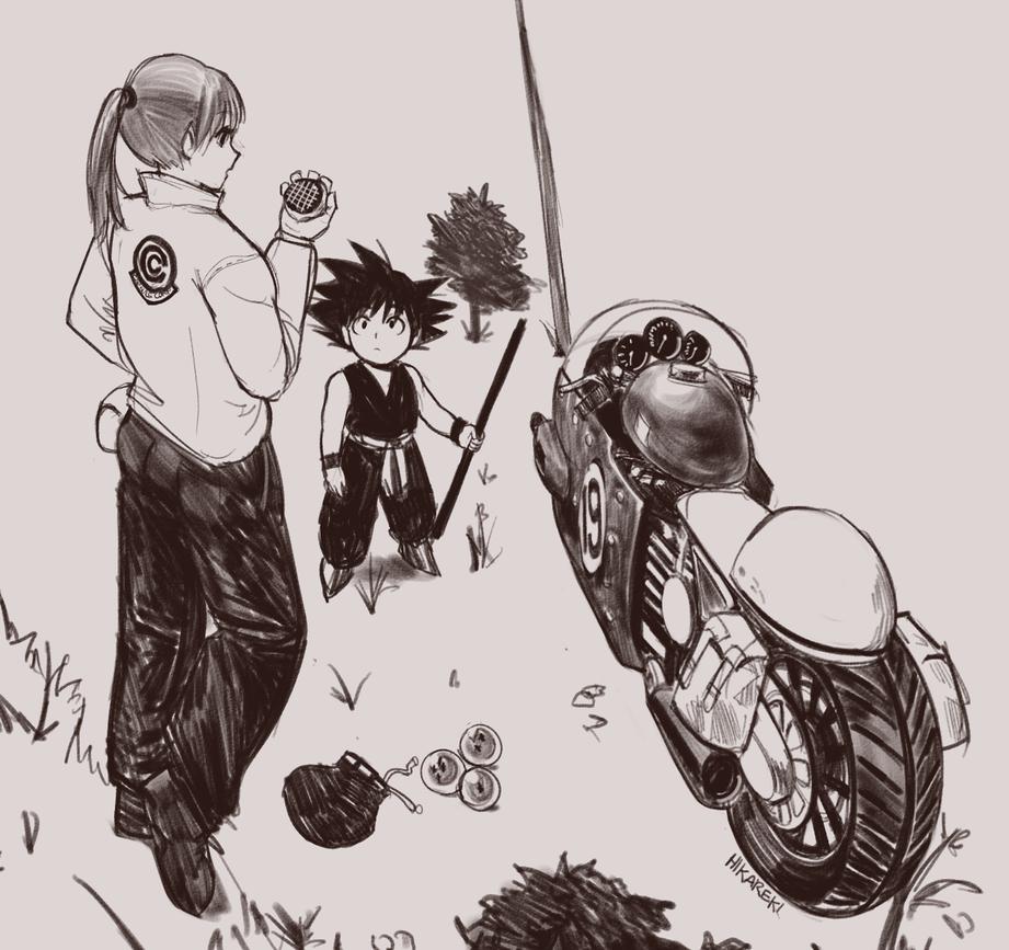 Bulma and goku by hikareki on deviantart - Goku e bulma a letto ...