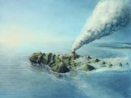 Monster Island by rorylanelutter