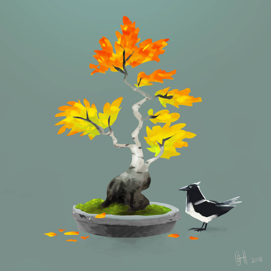 Bonsai Birch by gabrielhogberg