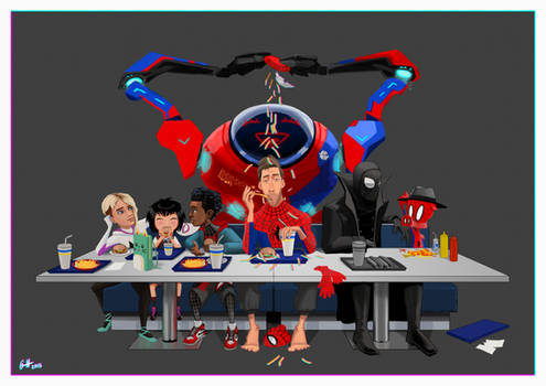 After work in the spider verse