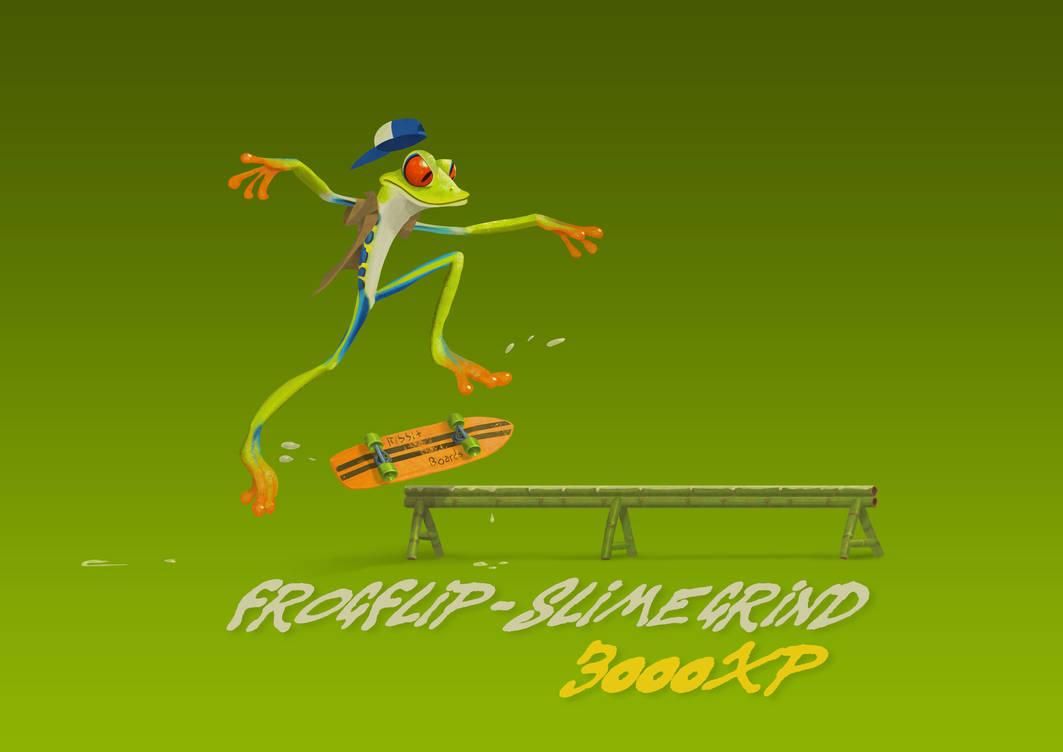 Frog by gabrielhogberg