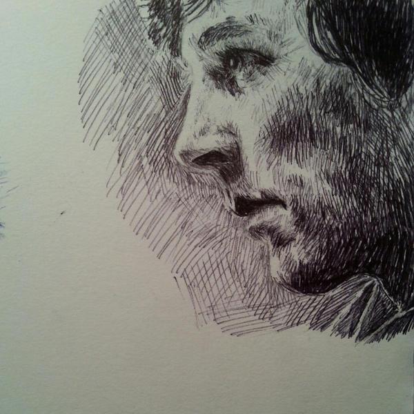 ballpoint pen II by Vanimelda4