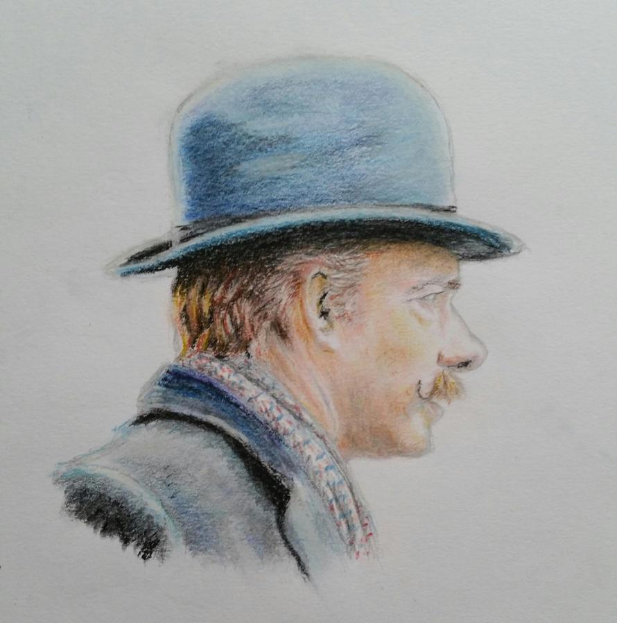 'Dr. Watson' (pastel) by Vanimelda4