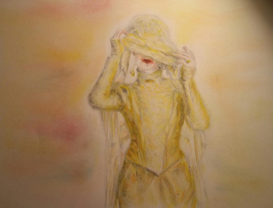'The Abominable Bride' (quick pastel sketch) by Vanimelda4