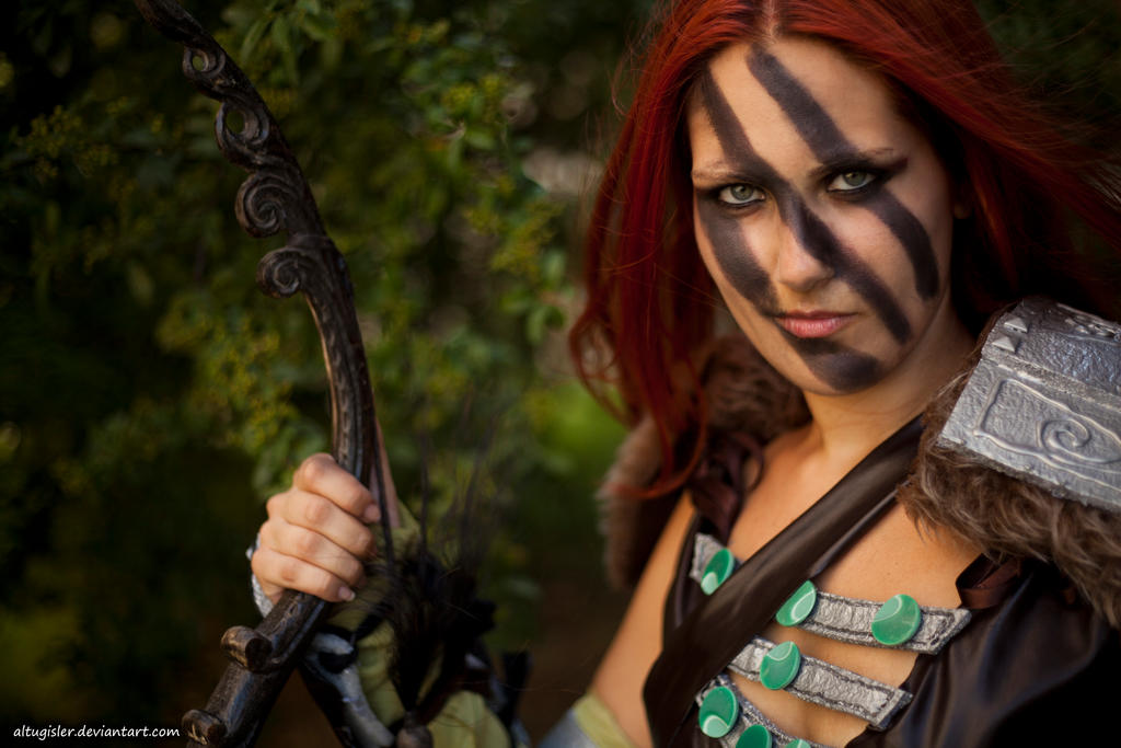 Aela cosplayer - Skyrim by altugisler