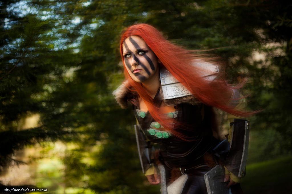 Aela the Huntress Cosplay - Elder Scrolls V Skyrim by altugisler
