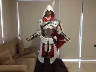 Ezio brotherhood costume by AuditoreEagle