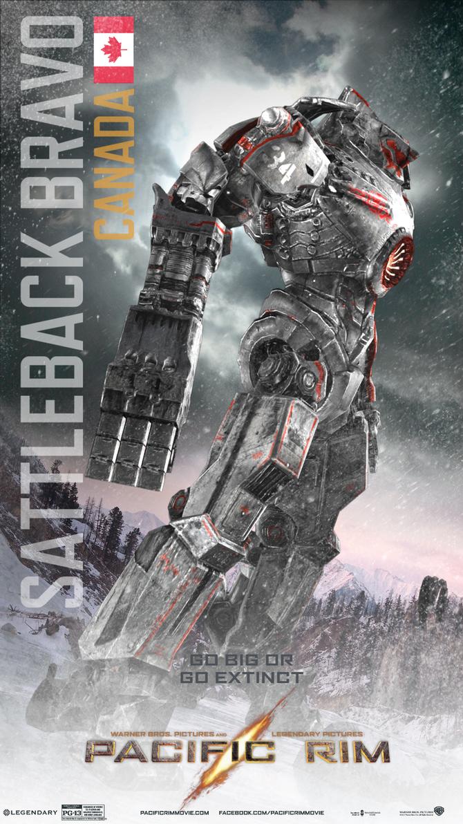 Pacific Rim Fan-made Jaeger: SattleBack Bravo by kah1jake ... Pacific Rim Jaeger Stats