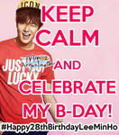 #Happy28thBirthdayLeeMinHo LEE MIN HO B-DAY