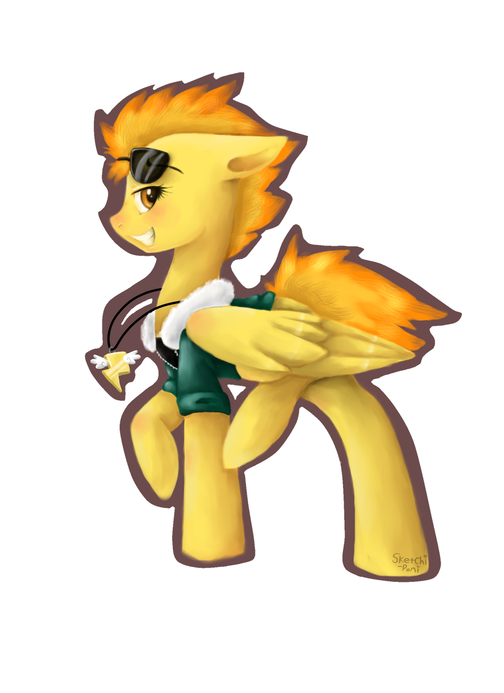 Spitfire by iSketchi