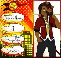:Hero-High: Damien Thorn by iSketchi