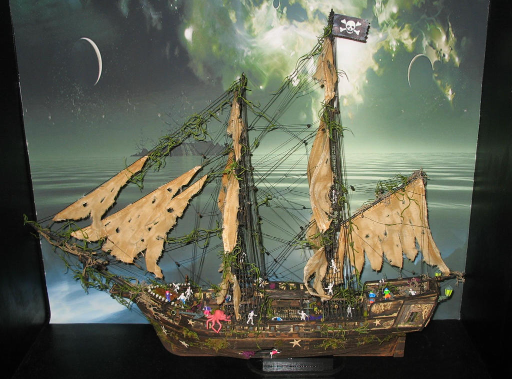 Ghost Pirate Ship Wallpaper Pirate Ghost Ship by