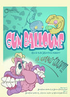 affiche Gun Balloune take 2 by J-to-the-Ro