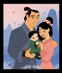 Commission:The family of Mulan