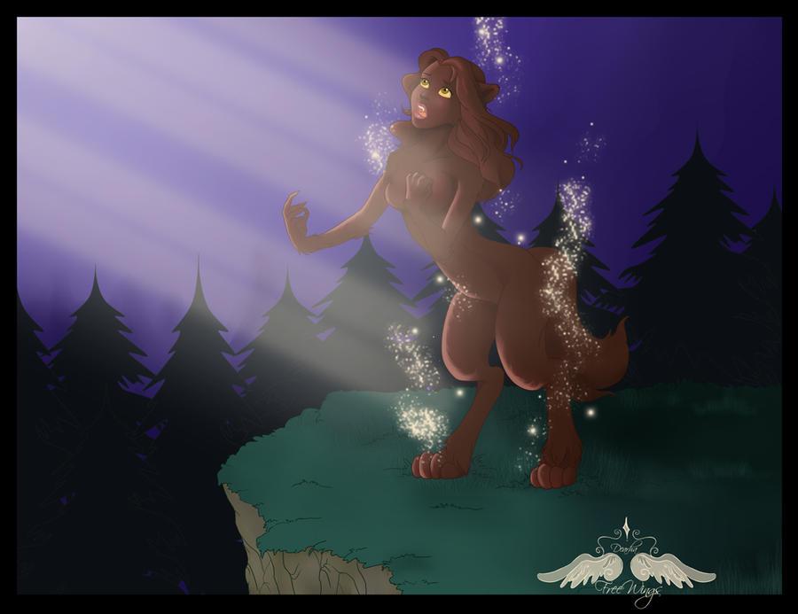 Commission: Belle werewolf