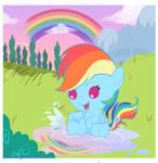 Little pony: RaimbowDash