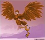 Jessica Alba as harpy