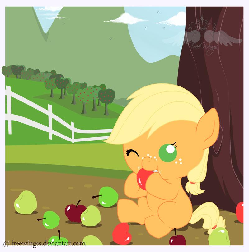 Applejack by FreeWingsS