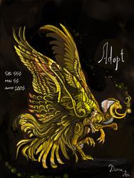 [OPEN ADOPT AUCTION] Fire Beast by Svodashi-Iarki