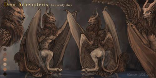 [CLOSE ADOPT AUCTION] Deos Arheopterix by Svodashi-Iarki
