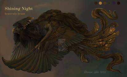 Shining Night - Heavenly Beast [closed] by Svodashi-Iarki
