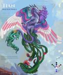 [OPEN ADOPT AUCTION] Tian Peacock Prince Dragon by Svodashi-Iarki