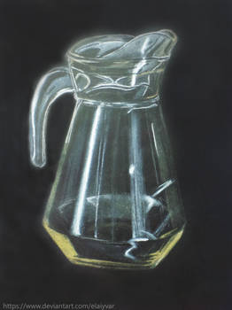 Transparent carafe study